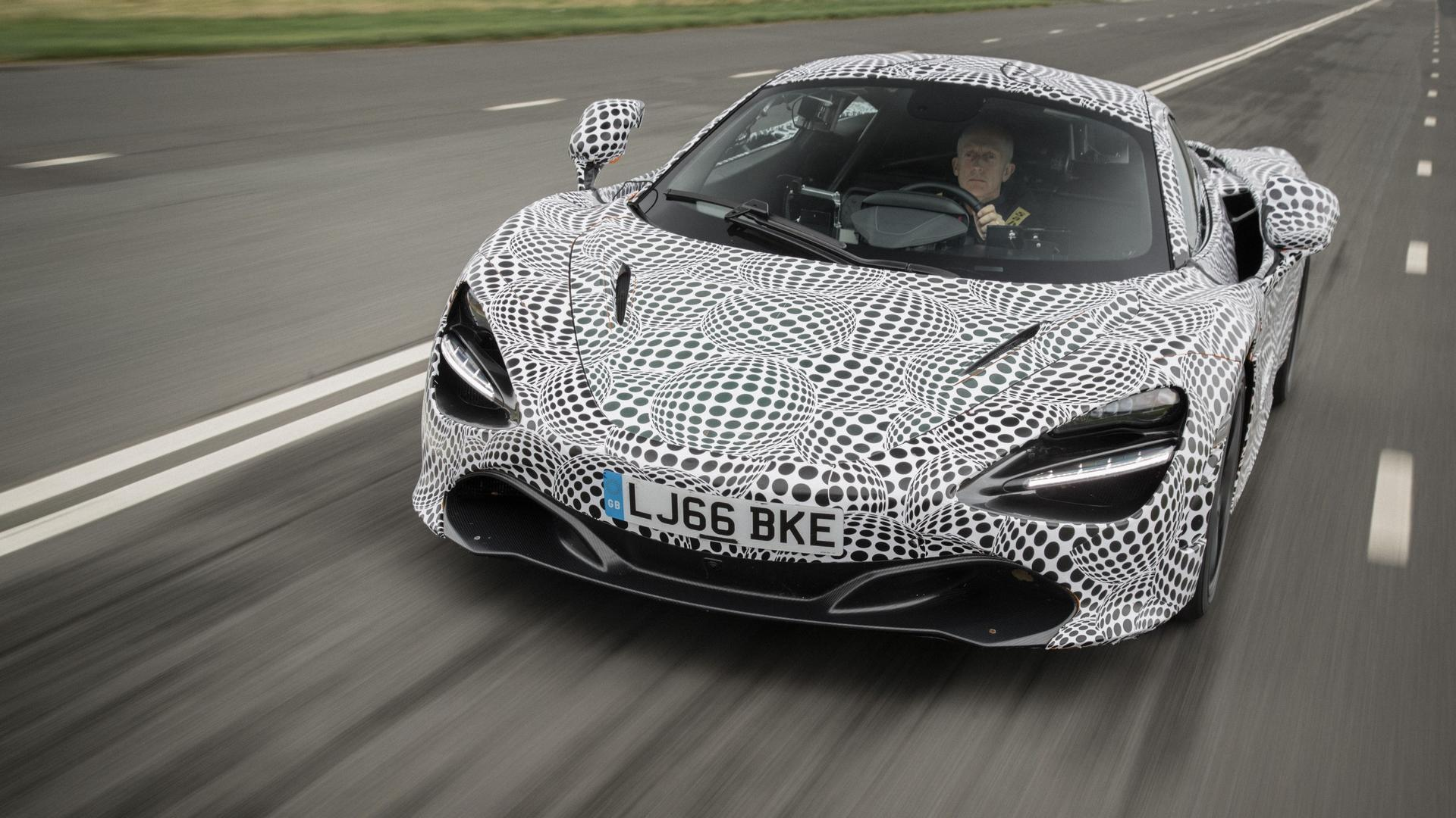 McLaren says its testing a pure-electric hypercar