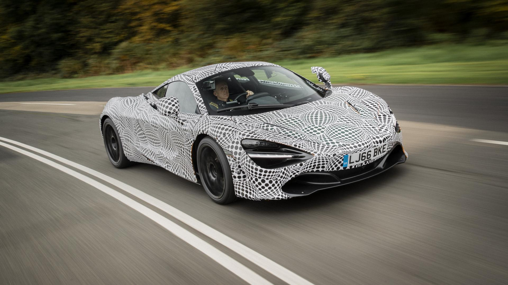 McLaren testing electric auto but production still years away