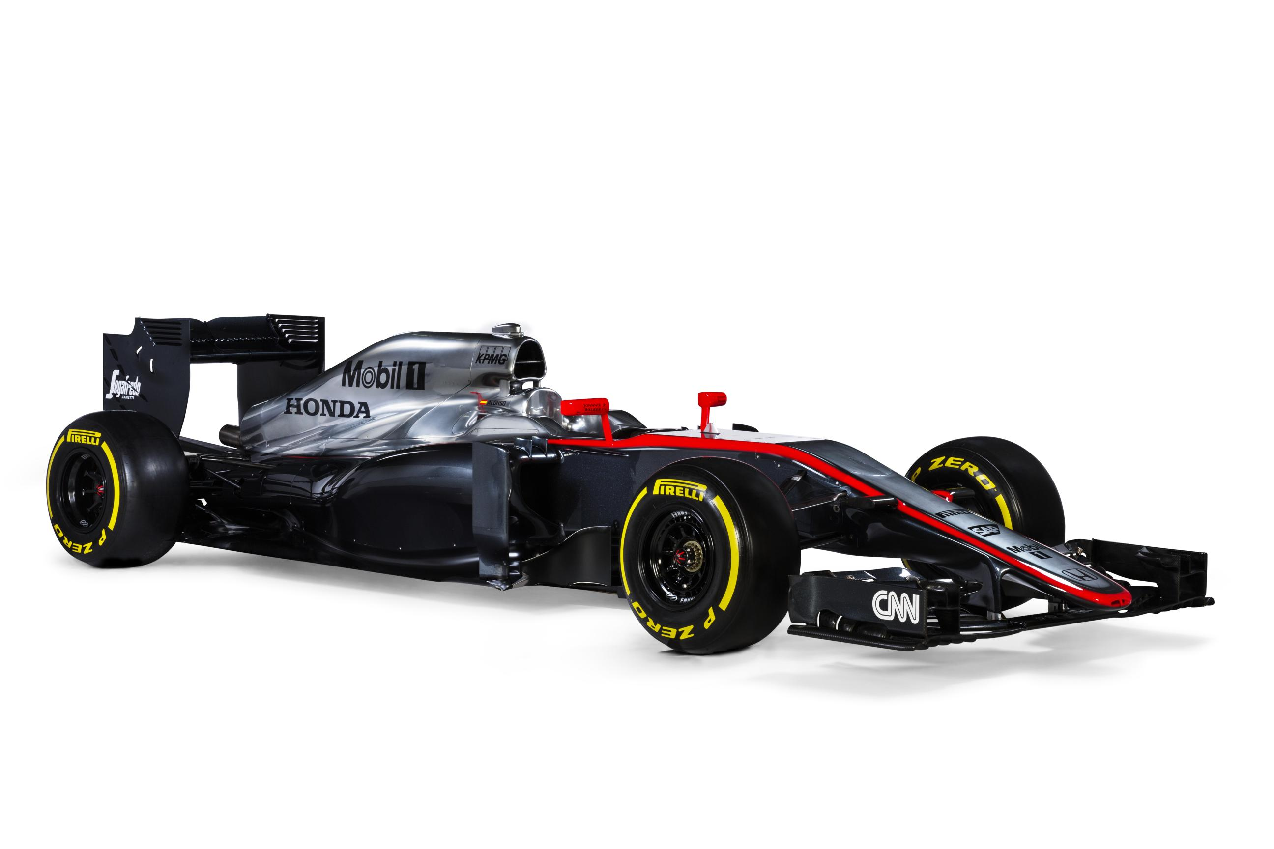 McLaren-Honda MP4-30 & Mercedes-AMG W06 Hybrid F1 Cars Unveiled - autoevolution