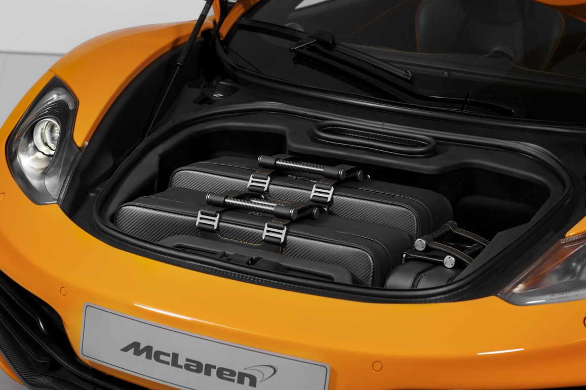 Mclaren Mp4 12c Gets Official Fitted Luggage Autoevolution