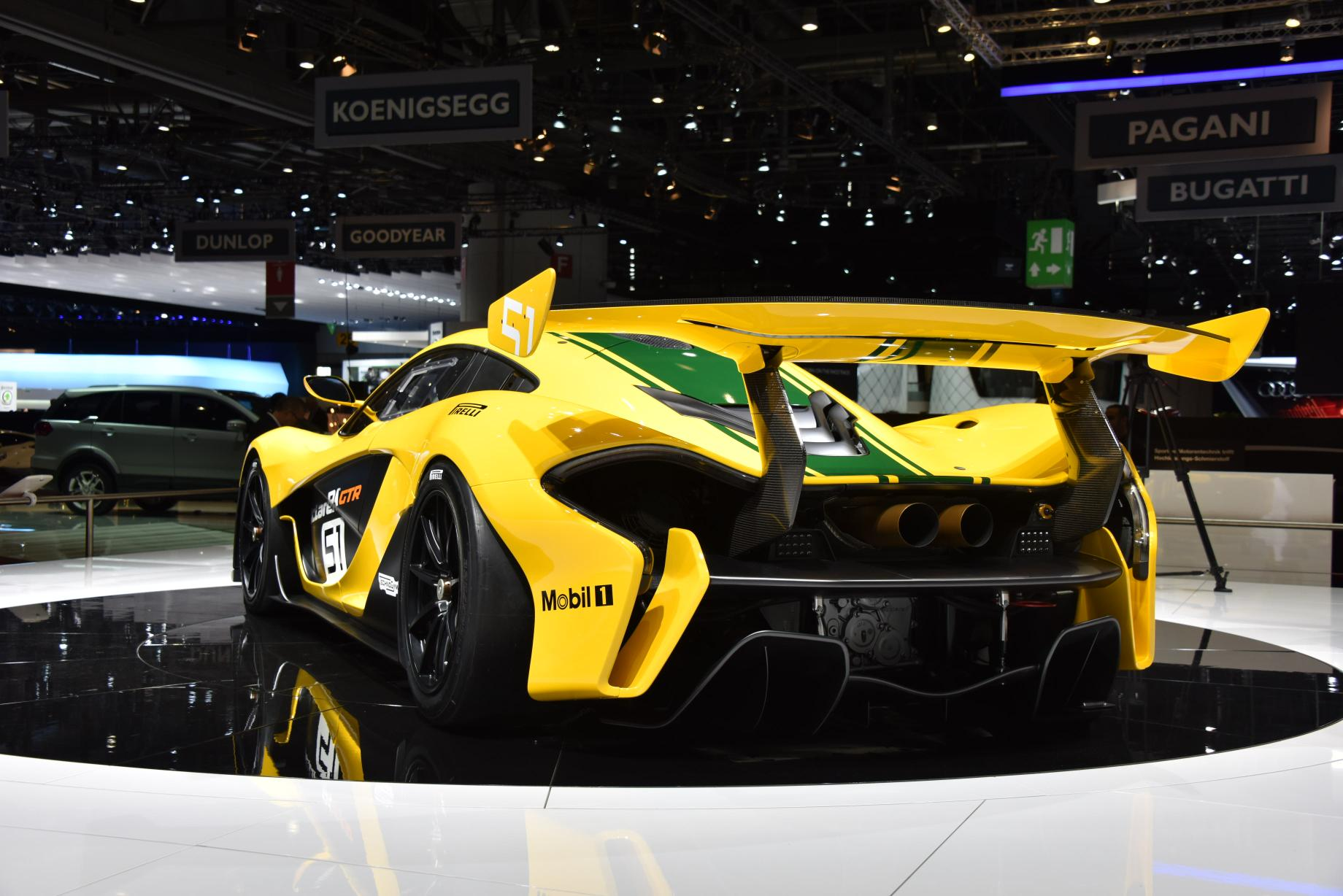 Mclaren Gtr Race Car Debuts At The Geneva Motor Show
