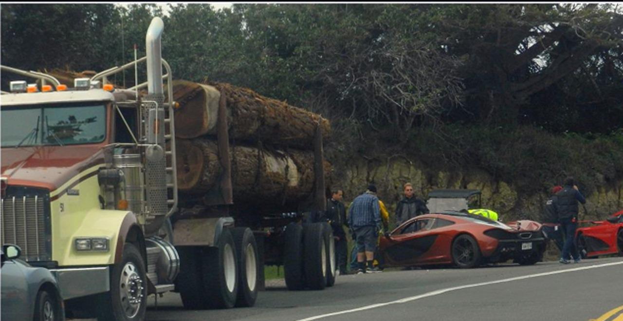 Mclaren P1 Veyron Agera R Lamborghini Sesto Elmento Spotted On Set Of Nfs Movie Autoevolution