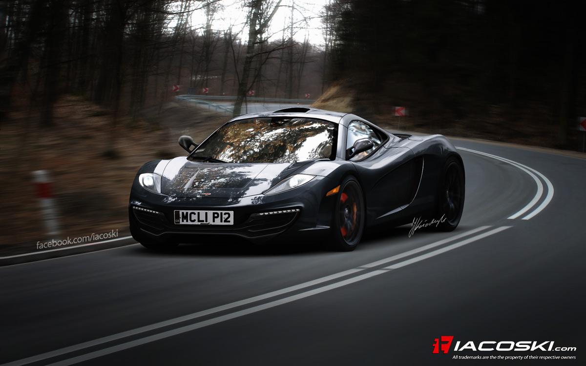 McLaren to Show P12 Supercar Concept in Paris - autoevolution
