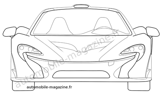 McLaren Patent Drawings Show P1 in More Detail