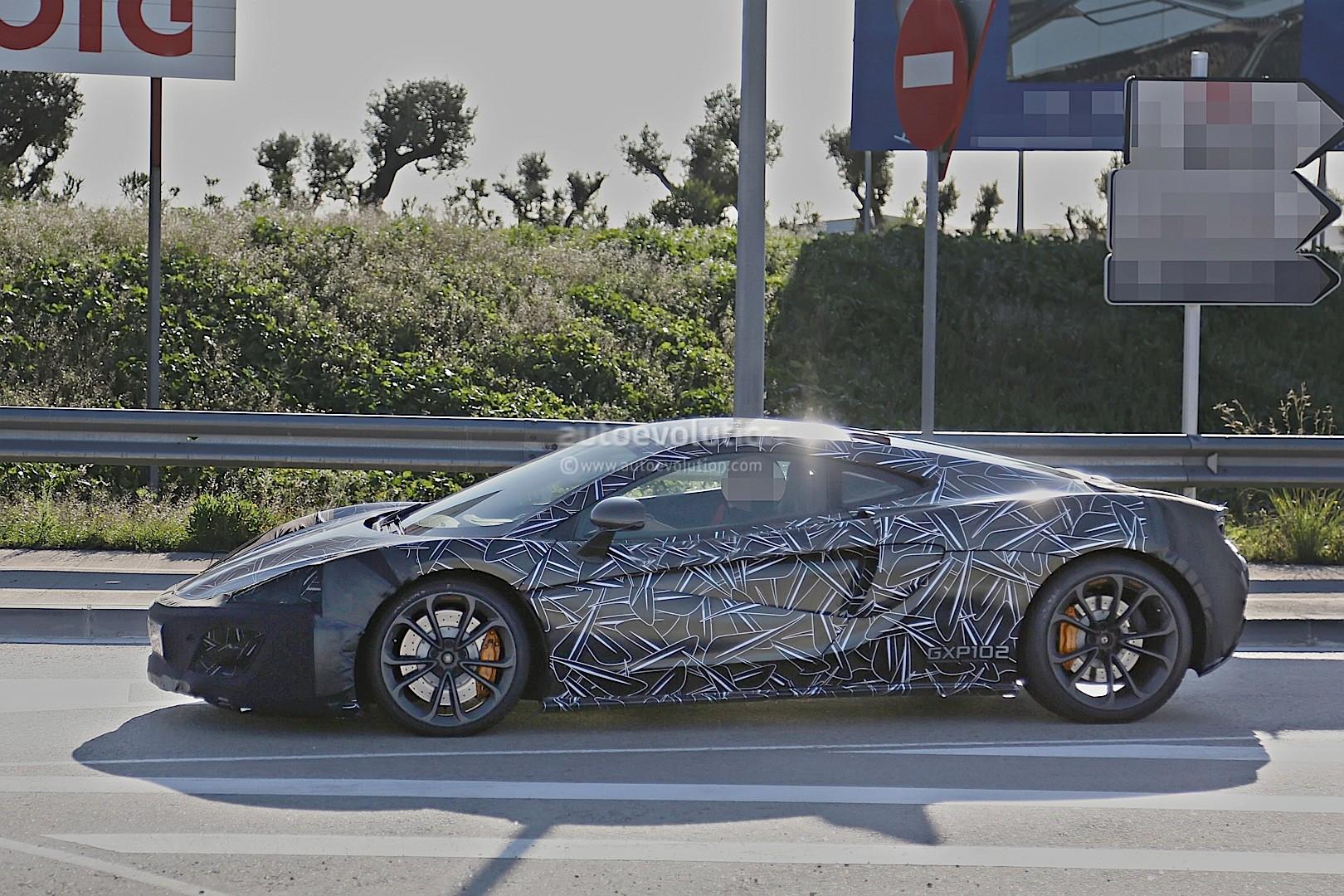 Mclaren Reveals Sports Series Carbon Fiber Monocoque Tub