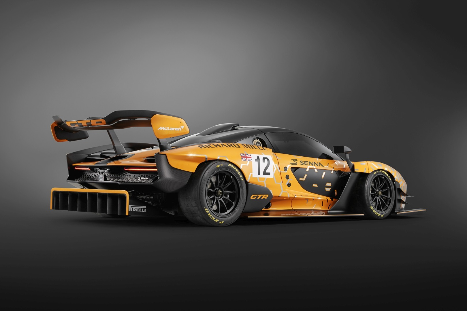 Mclaren Senna Gtr Customer Racecar Debuts As Quickest Mclaren Outside F1 Autoevolution