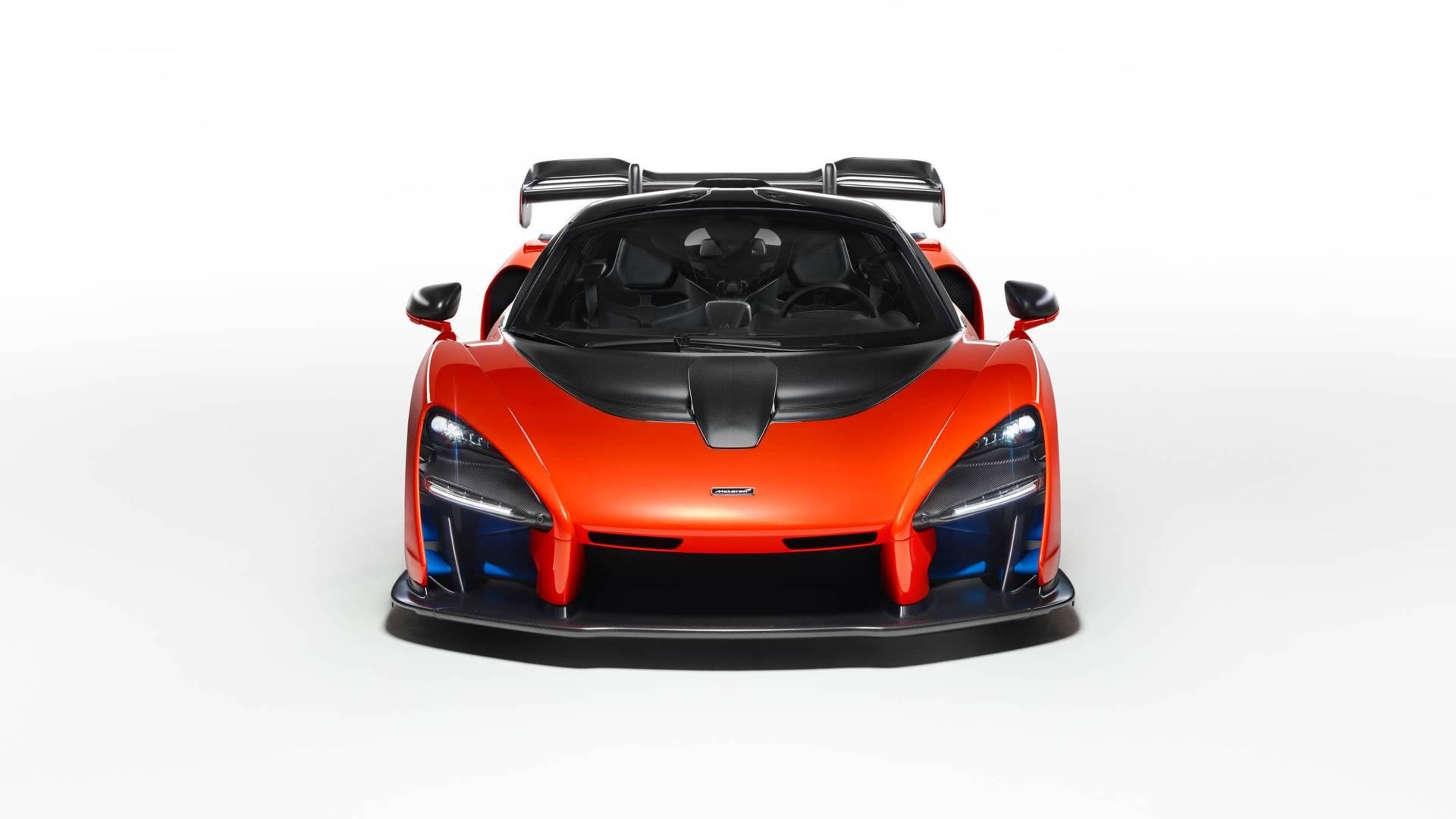 Orange Race Car >> McLaren Senna Specifications Will Leave You Speechless - autoevolution