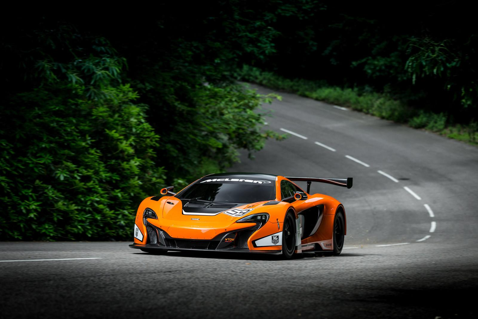 mclaren unveils 650s gt3 race car at the goodwood fos. Black Bedroom Furniture Sets. Home Design Ideas