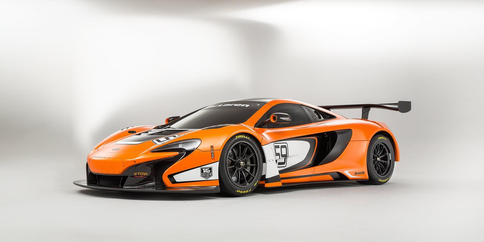 McLaren Unveils 650S GT3 Race Car at the Goodwood Fos ...