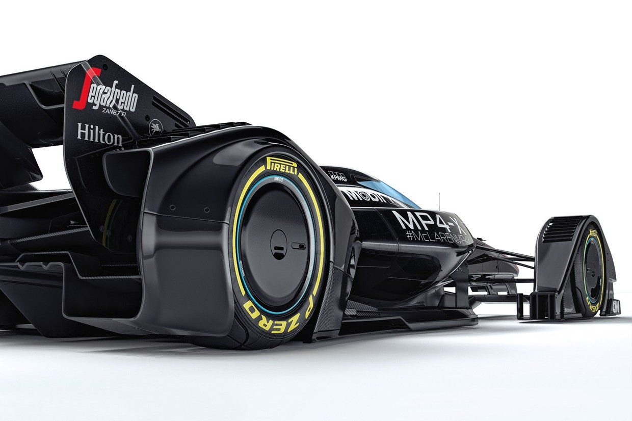 Mclaren S Mp4 X Study Shows What Happens When F1 Engineers Get High Autoevolution