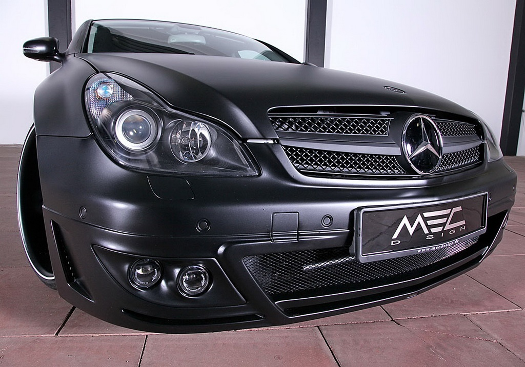 Mec Design Mercedes Cls 500 W219 Is Evil Black Autoevolution