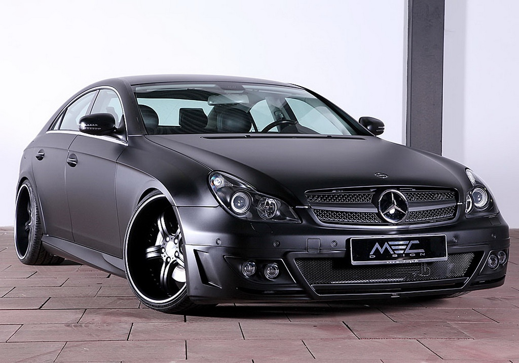 mec design mercedes cls 500 w219 is evil black autoevolution. Black Bedroom Furniture Sets. Home Design Ideas