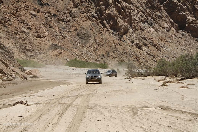 2010 BMW X5 Adventure Trip in Namibia