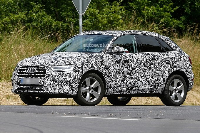 2015 audi q3 spyshots show facelift and new design language audi q3 forum. Black Bedroom Furniture Sets. Home Design Ideas