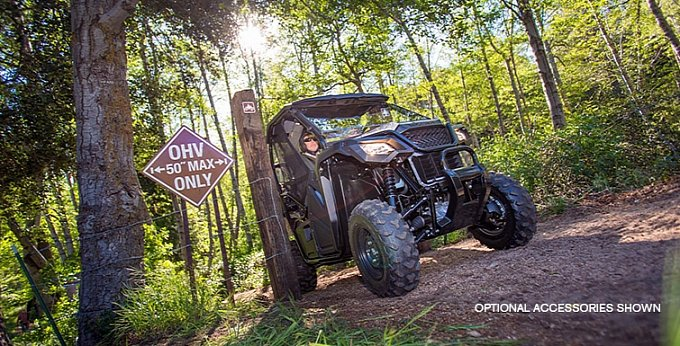 ... story: 2015 Honda Pioneer 500 Spells Affordable SxS Fun [Photo