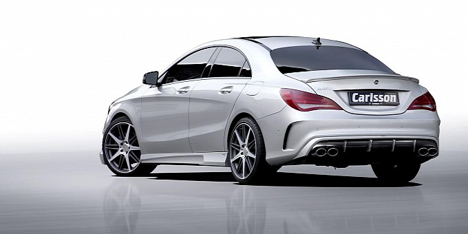 carlsson tuning package for cla 45 amg raises horsepower. Black Bedroom Furniture Sets. Home Design Ideas