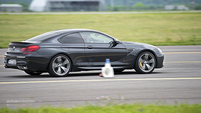 BMW M6 acceleration at BMW Driving Experience