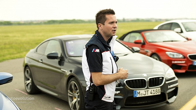 Claudiu David at BMW Driving Experience