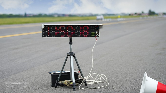 BMW Driving Experience - the stop watch