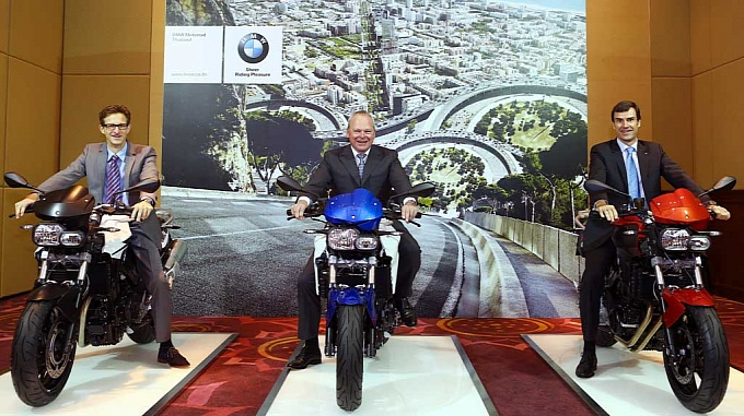 BMW Motorrad Starts Production in Thailand