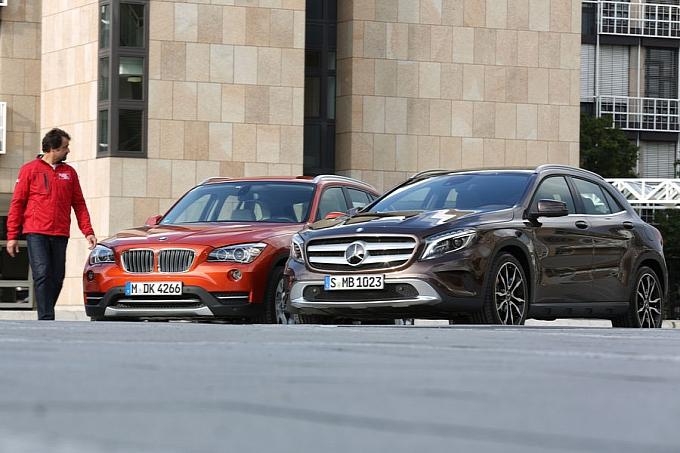 Mercedes-Benz GLA vs  BMW X1 - Mercedes GLA Forum