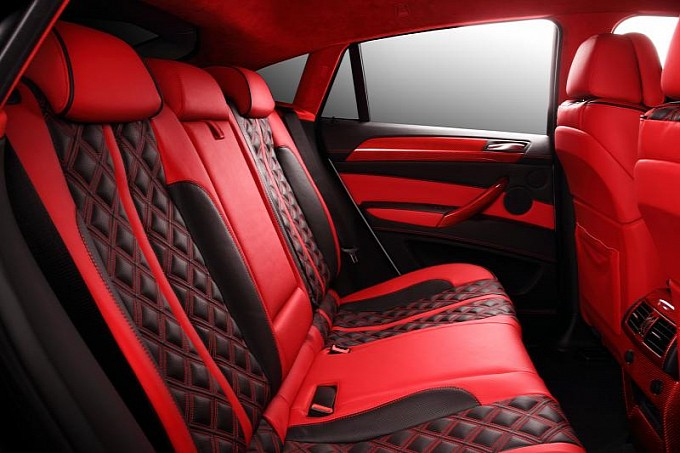 crazy interior for bmw x6 from topcar photo gallery. Black Bedroom Furniture Sets. Home Design Ideas