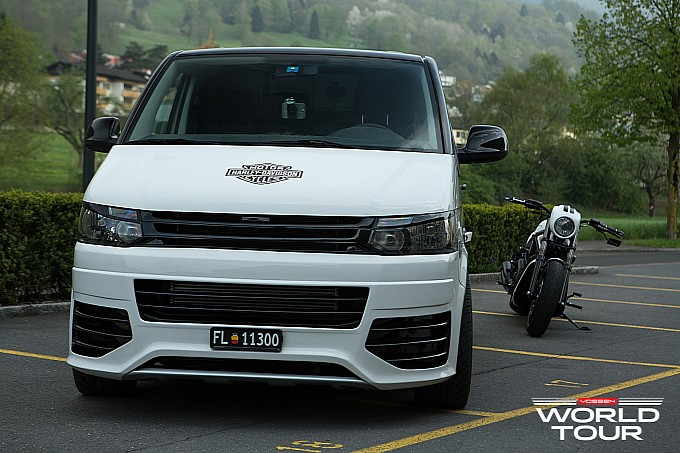 vw transporter on vossen wheels from story custom t5 vw transporter on