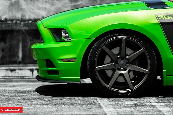 Boss 302 on Vossen Wheels