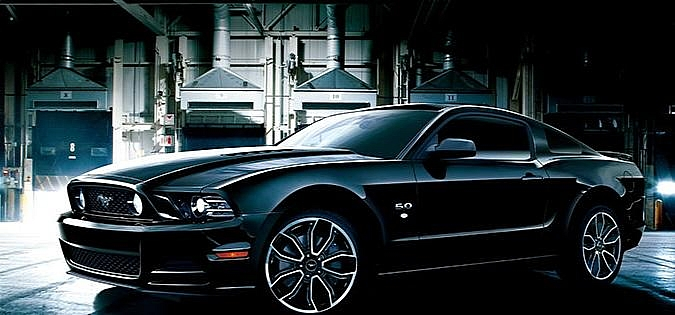 report this image - Ford Mustang Gt Black