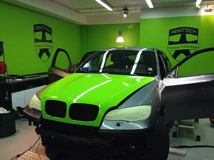 Centurion Racing Green BMW E71 X6