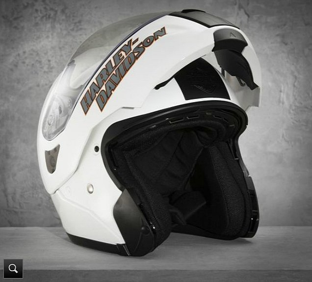 harley-davidson comes out with the visionary modular helmet