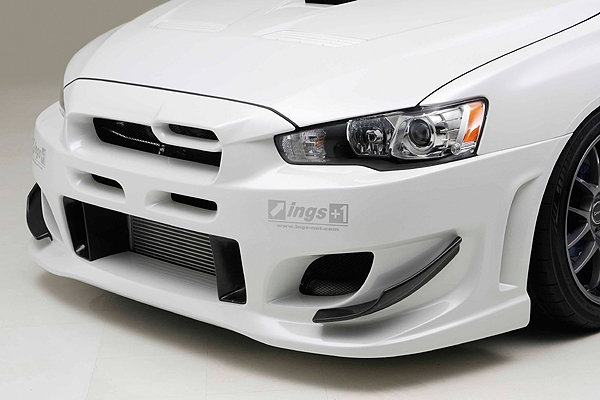 mitsubishi lancer evo x from story japanese tuning kit for lancer evo