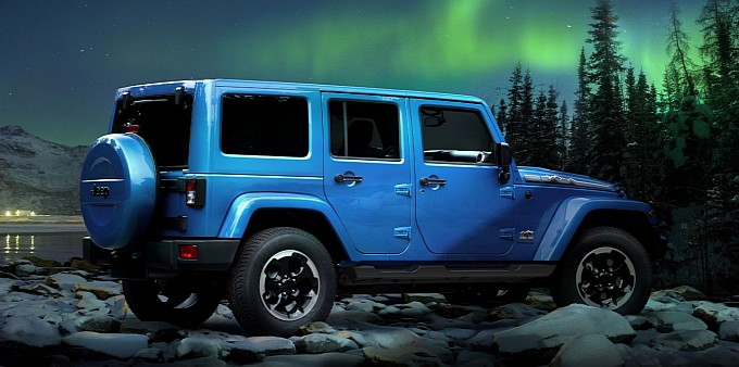 bob allen jeep wrangler polar limited edition unveiled before frankfurt auto show. Black Bedroom Furniture Sets. Home Design Ideas