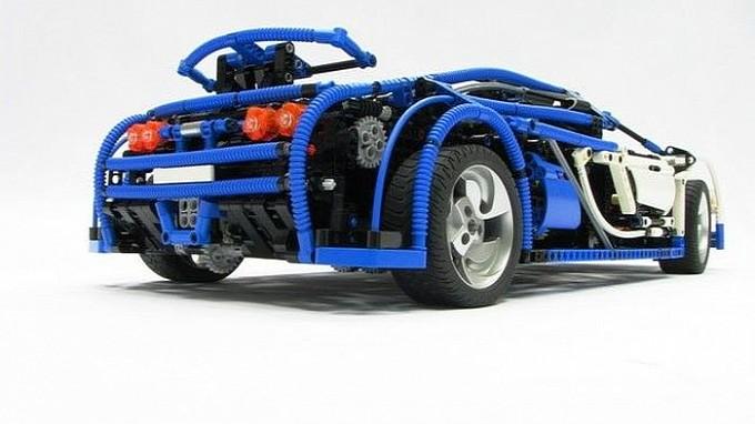 lego technic bugatti veyron is a driver s rc car video. Black Bedroom Furniture Sets. Home Design Ideas