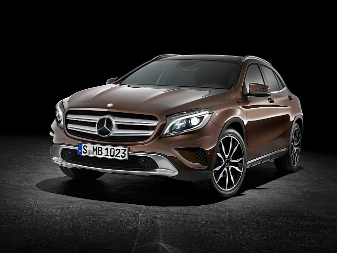Mercedes-Benz GLA to Receive Better Off-Road Package in 2014