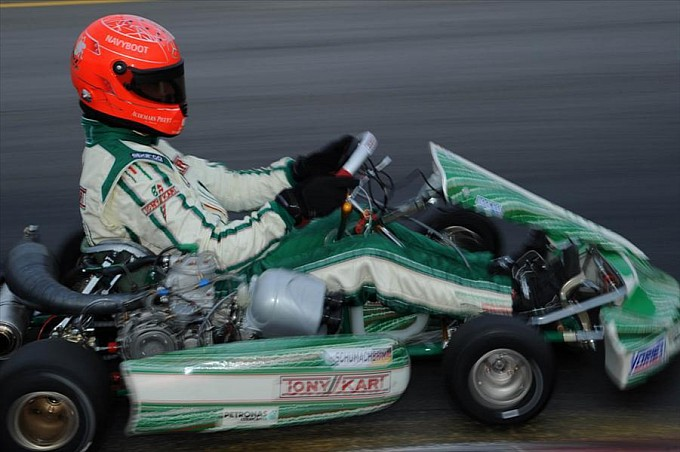 tony kart in 2013 from story michael schumacher returns to kart racing