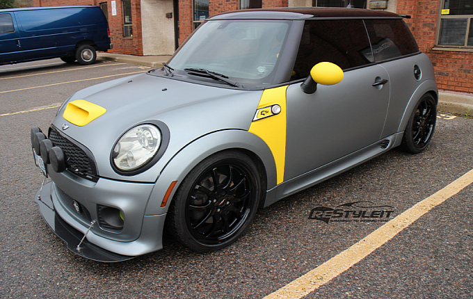 BMW Power Blog By Autoevolution Profiles Canadian Tuner And Outfitter ReStyleIts Modded Frozen Grey MINI Cooper S Provides An Extensive Photo Gallery