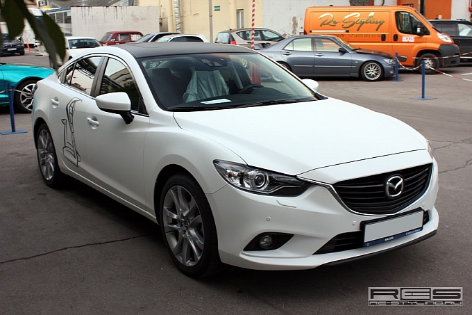 white Mazda6 image