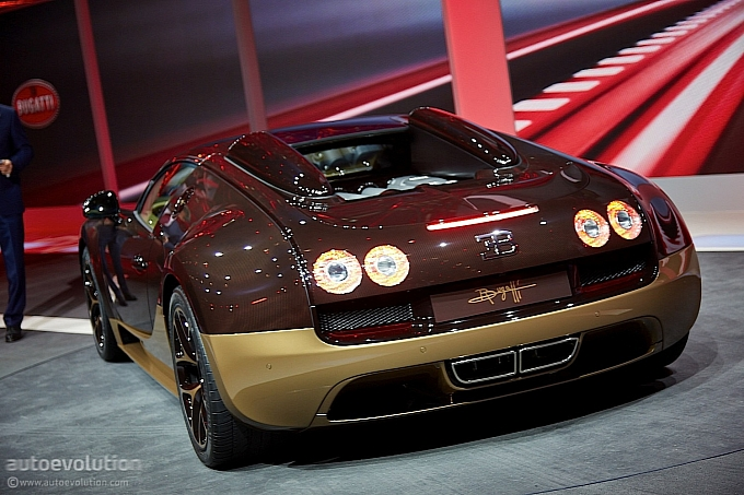the rembrandt veyron seri ke 4 dari bugatti legend edition. Black Bedroom Furniture Sets. Home Design Ideas