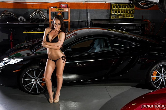 Sexy Girl Joyrides In 2014 Corvette Driven By 17yo Racer