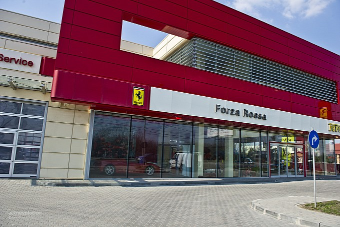 Forza Rossa Ferrari Showroom