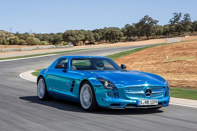 SLS AMG Electric Drive to be Built Until Summer 2014