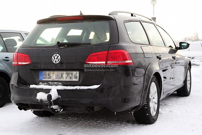 Шпионские фото 2014 Volkswagen…