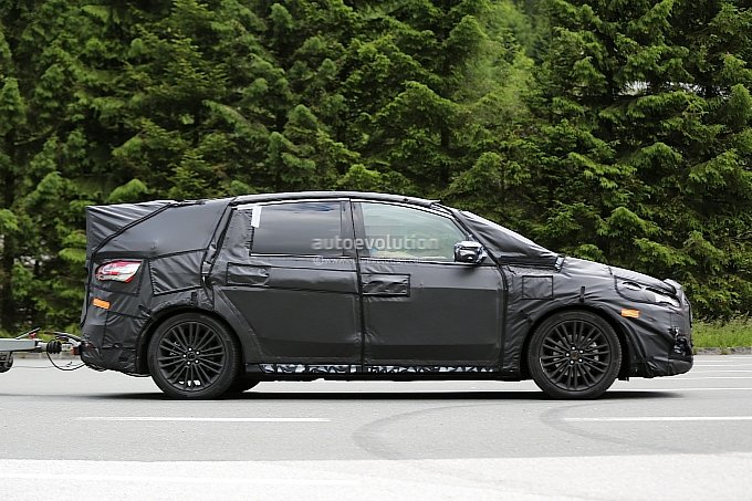 2015 Ford S-Max pre-production vehicle spotted testing in Europe #19