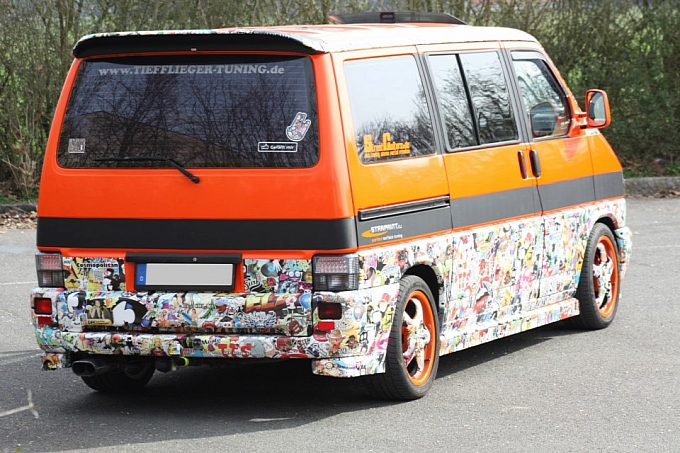 Cars from story sticker bomb and the geeky art of cartoon car wrapping