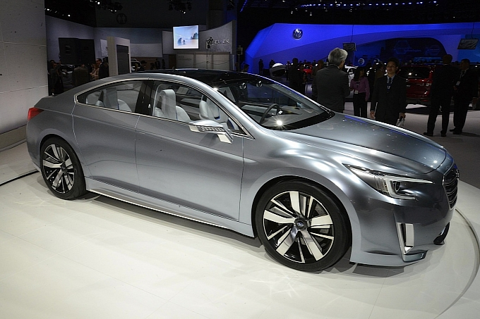 Subaru Legacy Concept in Los Angeles