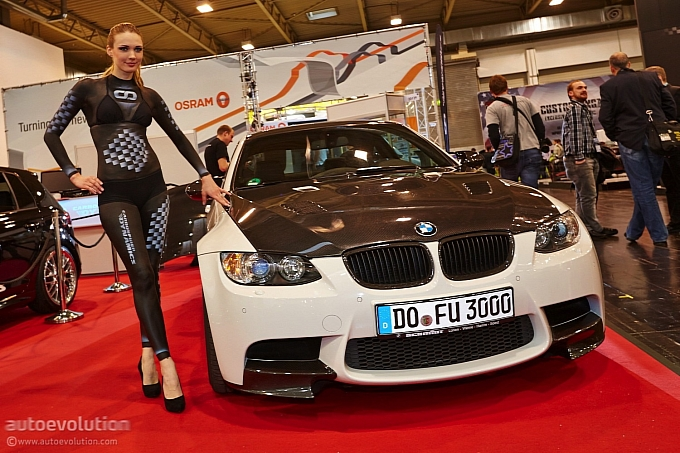 BMW Girls at the Essen Motor Show 2013