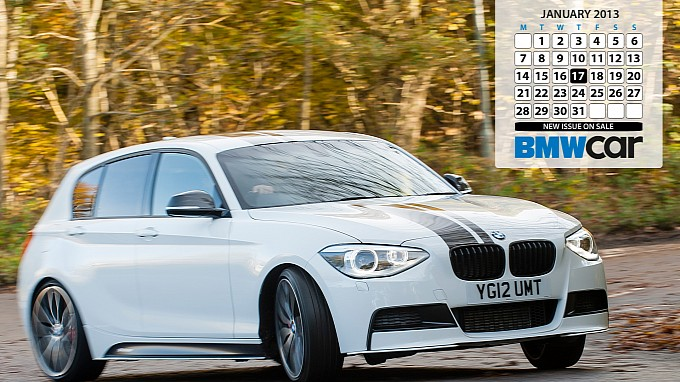 BMW Car Magazine Desktop Calendar Wallpapers