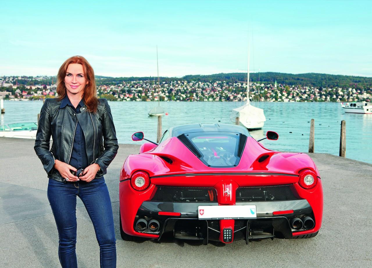 Meet Cornelia Hagmann One Of The 499 Laferrari Owners