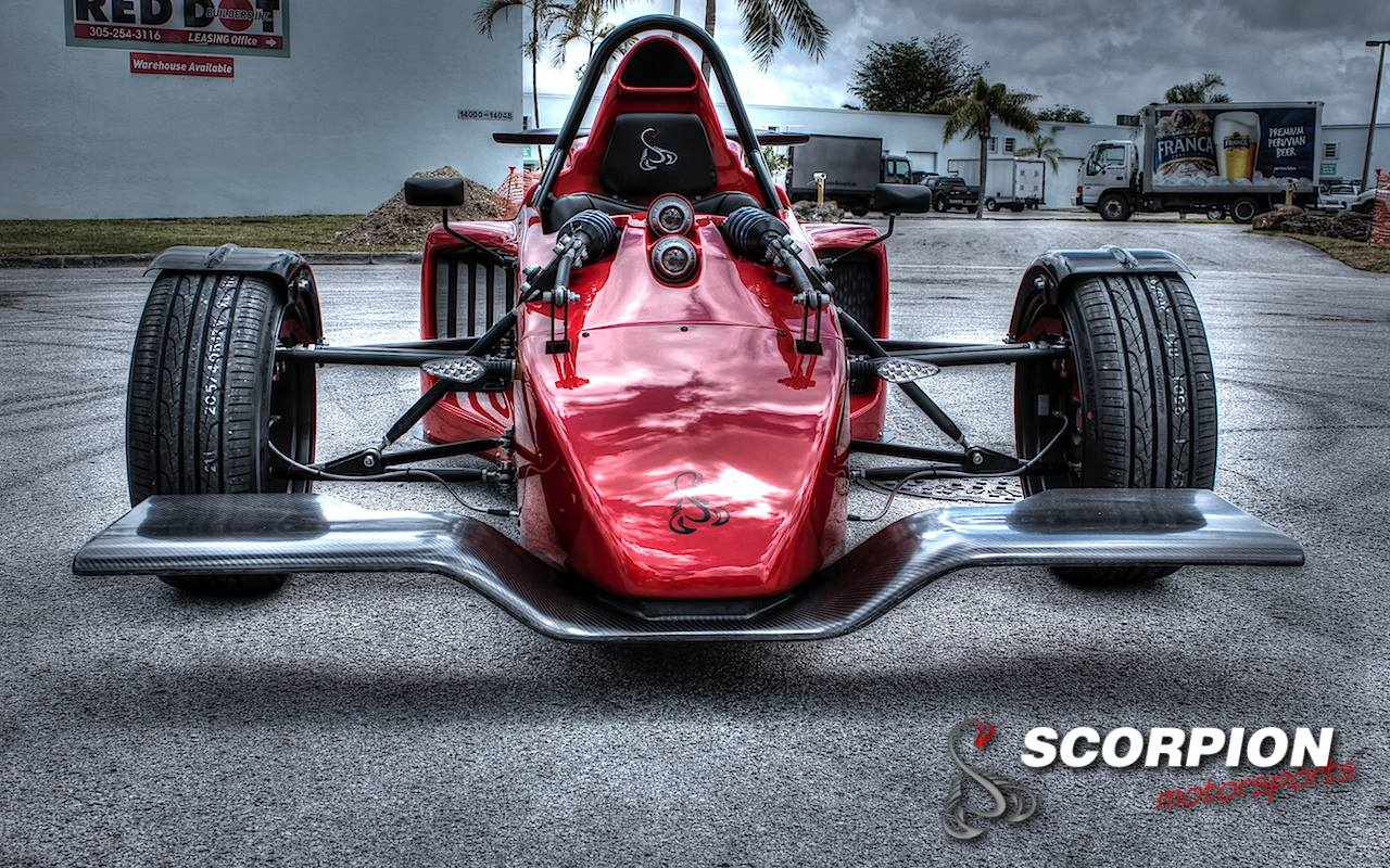 Morgan Three Wheeler For Sale >> Meet Morgan 3 Wheeler's Nemesis - the Scorpion P6 - autoevolution
